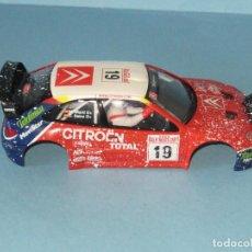 Scalextric: CITROEN X SARA WRC EFECTO NIEVE CARROCERIA M.MARTIN -CARLOS SAINZ. Lote 252601320