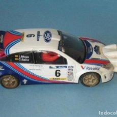 Scalextric: FORD FOCUS WRC LUIS MOYA-CARLOS SAINZ COCHE EN BUEN ESTADO. Lote 252601660