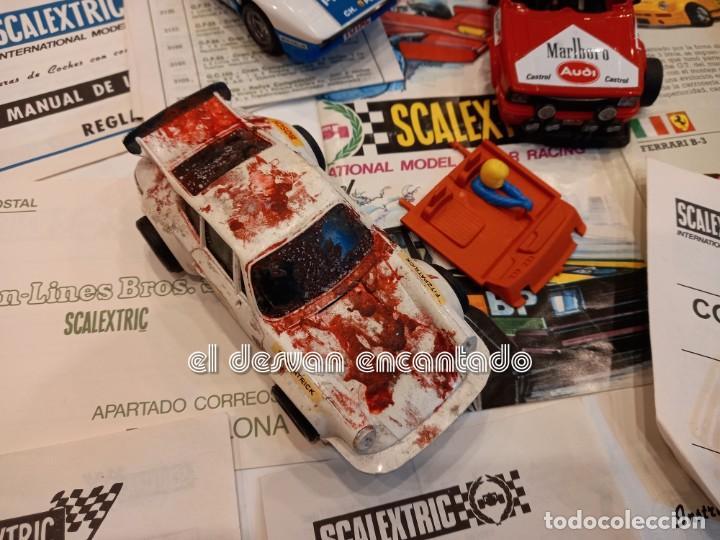 Scalextric: SCALEXTRIC EXIN. Lote desguace con varios coches y documentación. VER FOTOS - Foto 2 - 253474660