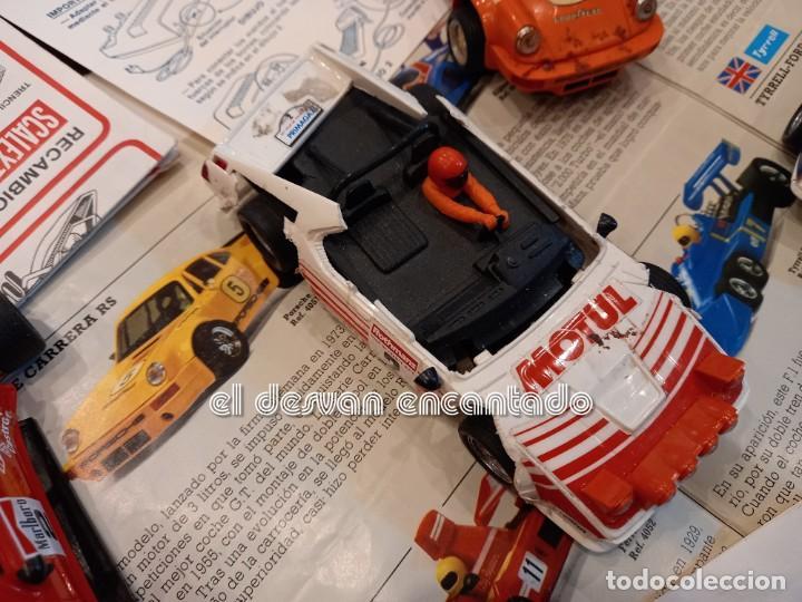 Scalextric: SCALEXTRIC EXIN. Lote desguace con varios coches y documentación. VER FOTOS - Foto 3 - 253474660