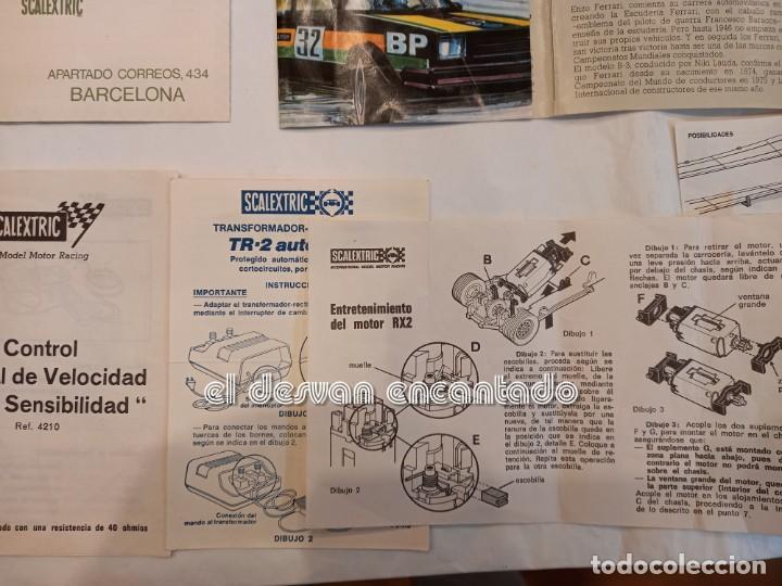 Scalextric: SCALEXTRIC EXIN. Lote desguace con varios coches y documentación. VER FOTOS - Foto 10 - 253474660