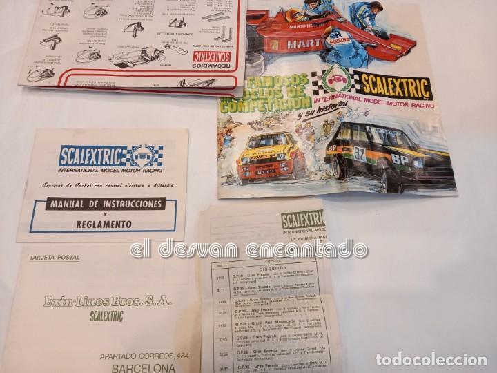 Scalextric: SCALEXTRIC EXIN. Lote desguace con varios coches y documentación. VER FOTOS - Foto 11 - 253474660
