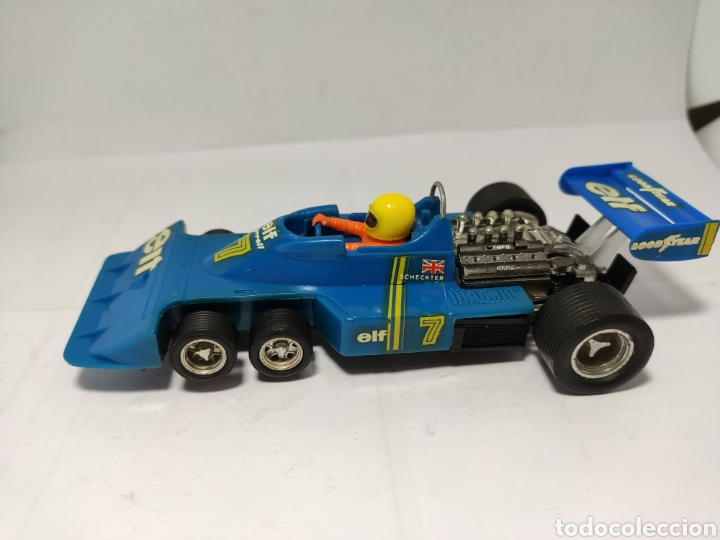 SCALEXTRIC TYRRELL F1 P34 AZUL EXIN REF. 4054 (Juguetes - Slot Cars - Scalextric Exin)