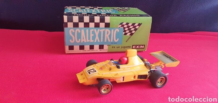 COCHE FERRARI B3 F-1 REF_4052 SCALEXTRIC (Juguetes - Slot Cars - Scalextric Exin)