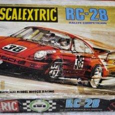 Scalextric: CAJA DEL CIRCUITO RC-28 DE EXIN SCALEXTRIC. SIN COCHES.. Lote 257323795
