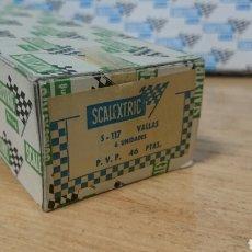 Scalextric: CAJA VALLAS S-117 SCALEXTRIC EXIN. Lote 257351275