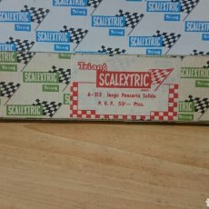 Scalextric: CAJA JUEGO PANCARTA SALIDA A-212 SCALEXTRIC EXIN. Lote 257351660
