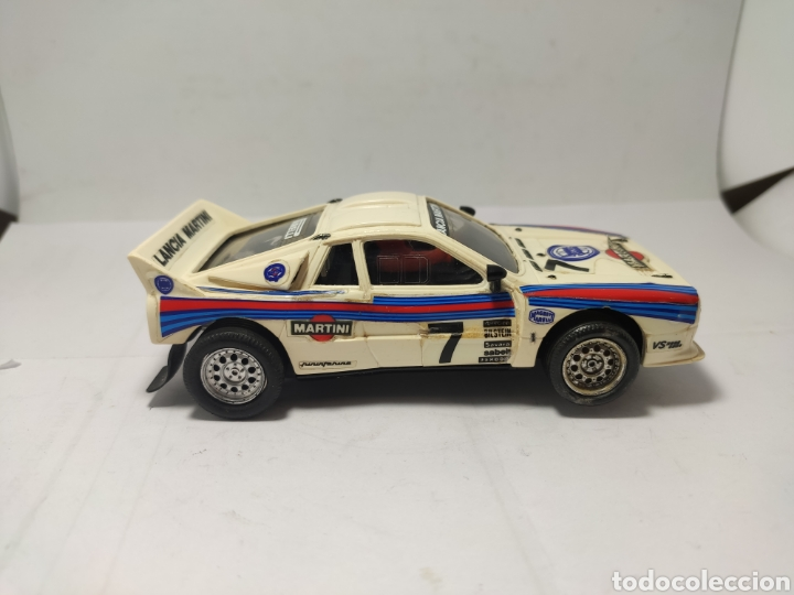 Scalextric: SCALEXTRIC LANCIA RALLY 037 EXIN MARTINI - Foto 4 - 257512670
