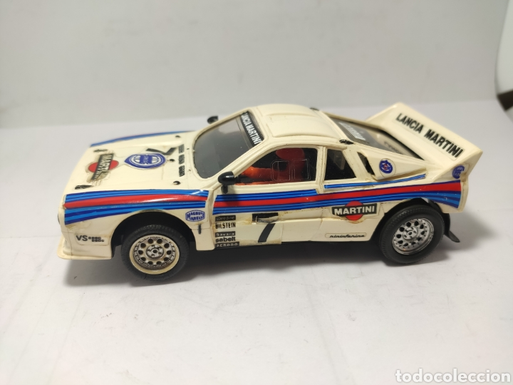 SCALEXTRIC LANCIA RALLY 037 EXIN MARTINI (Juguetes - Slot Cars - Scalextric Exin)