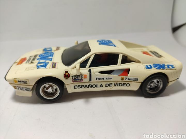 SCALEXTRIC FERRARI GTO ESPAÑOLA DE VIDEO EXIN (Juguetes - Slot Cars - Scalextric Exin)