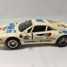 Scalextric: SCALEXTRIC FERRARI GTO ESPAÑOLA DE VIDEO EXIN. Lote 257708550
