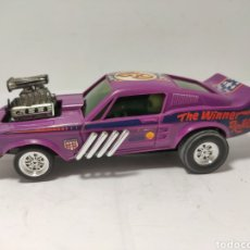 Scalextric: SCALEXTRIC FORD MUSTANG DRAGSTER LILA EXIN REF. 4049. Lote 258039605