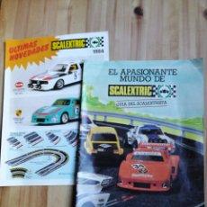 Scalextric: EXIN GUIA DEL SCALEXTRISTA 1983 Y NOVEDADES 1984. Lote 259308700