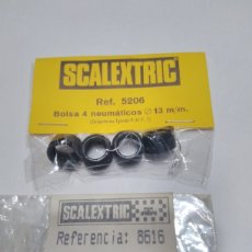 Scalextric: 2 BOLSAS NEUMÁTICOS DE SCALEXTRIC EXIN. Lote 261608760