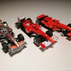 Scalextric: LOTE DE 3 COCHES SCALEXTRIC COMPACT FORMULA 1. Lote 261878920