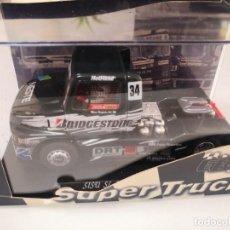 Scalextric: FLY CAR MODEL CAMIÓN SISU SL 250 FIA ETRC 1998, REF. TRUCK 3, VÁLIDO SCALEXTRIC. Lote 262229890