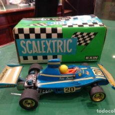 Scalextric: SCALEXTRIC FERRARI B-3 FORM. 1 AZUL. Lote 262283510