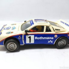 Scalextric: SCALEXTRIC LANCIA 037 ROTHMANS EXIN REF. 4073/74/76. Lote 262625810