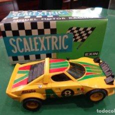 Scalextric: SCALEXTRIC LANCIA STRATOS REF. 4055 AMARILLO. Lote 262867740