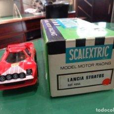 Scalextric: SCALEXTRIC LANCIA STRATOS REF. 4055 ROJO. Lote 262873025