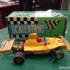 Scalextric: SCALEXTRIC FERRARI B-3 FORM.1 REF-4052 AMARILLO. Lote 262880915