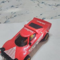 Scalextric: LANCIA STRATOS ROJO 2 SERIE, SCALEXTRIC EXIN. Lote 263559785