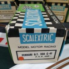 Scalextric: CAJA DE EXIN SCALEXTRIC FERRARI GT 330. Lote 263572415
