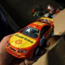 Scalextric: ANTIGUO COCHDE DE SCALEXTRIC SCX - TOYOTA CÉLICA WRC. Lote 263579540