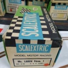 Scalextric: CAJA MCLAREN EXIN SCALEXTRIC. Lote 263592950