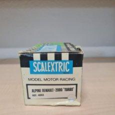 Scalextric: CAJA ALPINE BANCO OCCIDENTAL EXIN. Lote 263595845