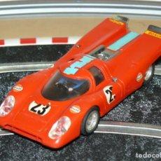 Scalextric: SCALEXTRIC EXIN PORSCHE 917 ROJO CLARO REF. C-46 AÑO 1972 SLOT CAR 1:32 SCALE ALFREEDOM. Lote 263660750
