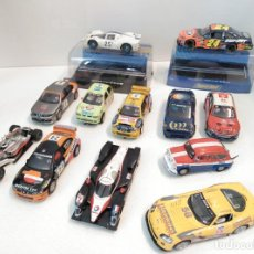 Scalextric: LOTE DE 8 COCHES SCALEXTRIC + 4 COCHES HORNBY. Lote 267115069