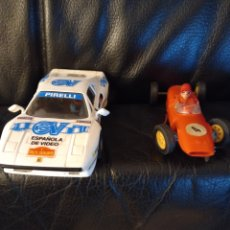 Scalextric: 2 COCHES SCALEXTRIC. Lote 267414244