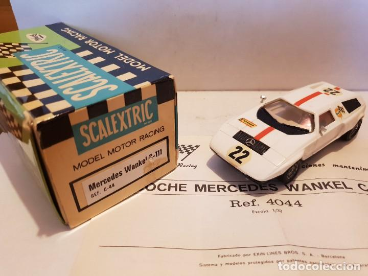 SCALEXTRIC EXIN MERCEDES WANKELL (Juguetes - Slot Cars - Scalextric Exin)