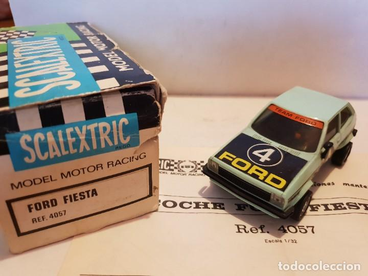SCALEXTRIC EXIN FORD FIESTA (Juguetes - Slot Cars - Scalextric Exin)