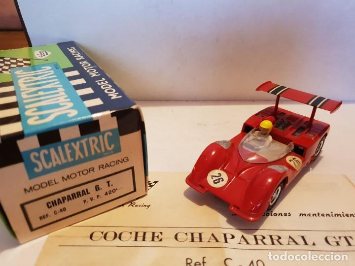 SCALEXTRIC EXIN CHAPARRAL GT (Juguetes - Slot Cars - Scalextric Exin)