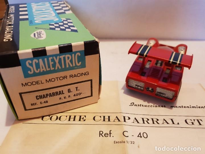 Scalextric: SCALEXTRIC EXIN CHAPARRAL GT - Foto 2 - 268590879