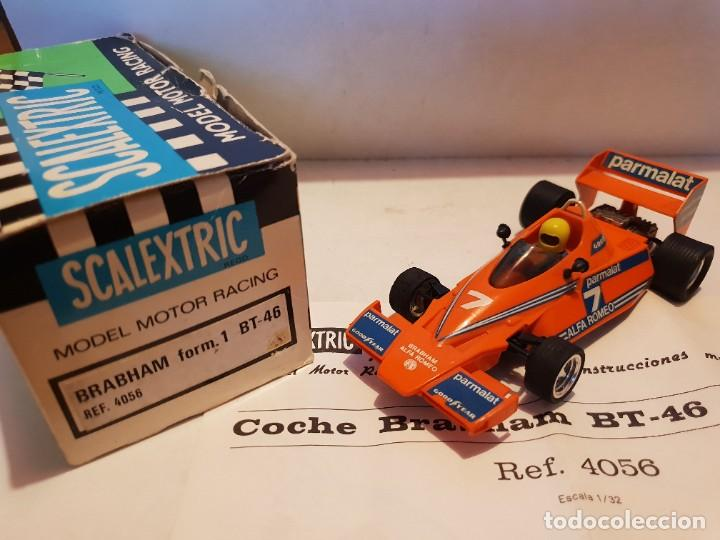 SCALEXTRIC EXIN BRABHAM BT-46 (Juguetes - Slot Cars - Scalextric Exin)