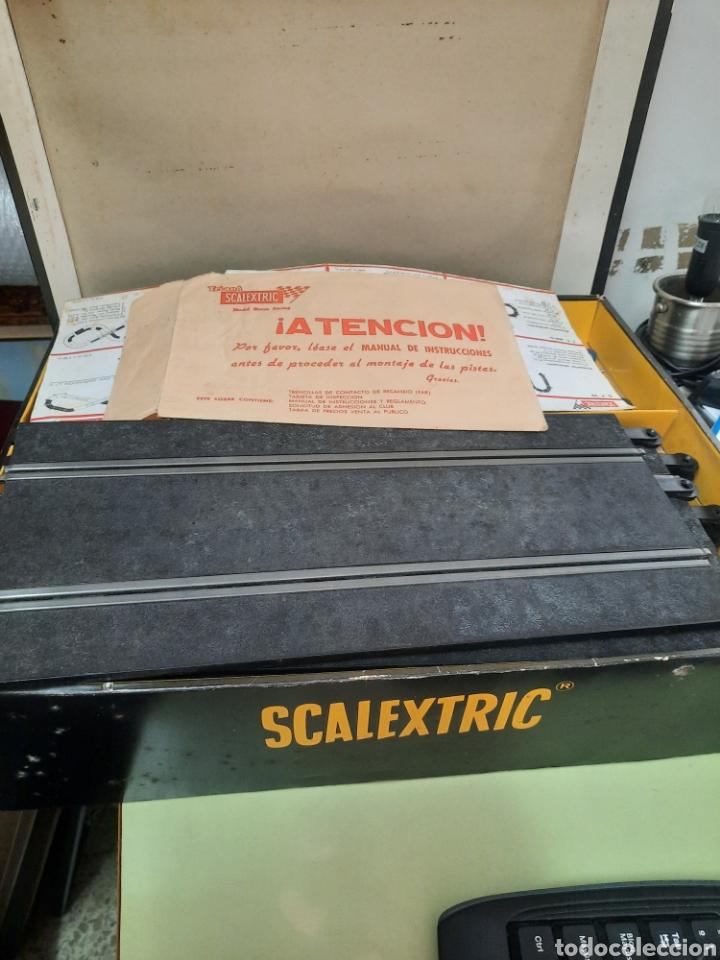 Scalextric: Scalextric set ampliación n°3 y GP 22 AÑO 1968 - Foto 3 - 268615464