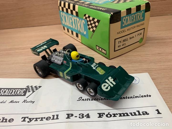 Scalextric: Tyrrell p34 verde en caja EXIN SCX SCALEXTRIC - Foto 2 - 268716929