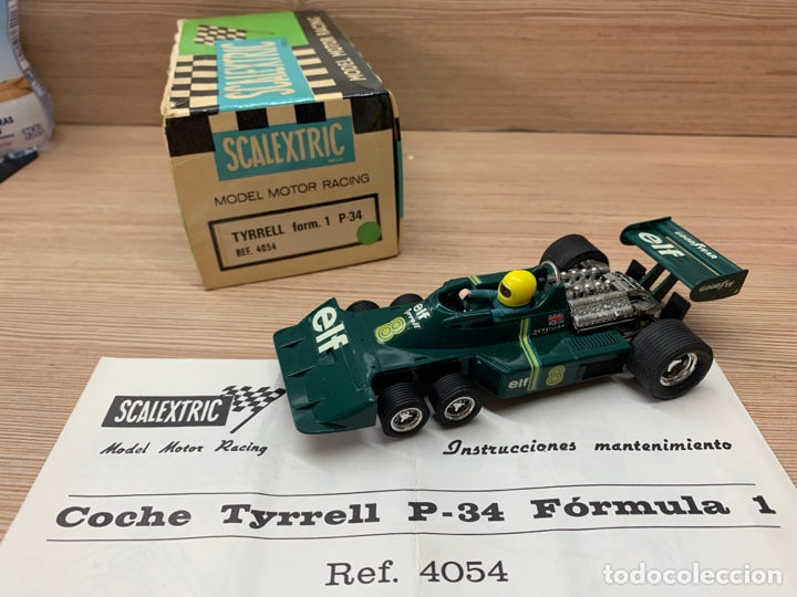 Scalextric: Tyrrell p34 verde en caja EXIN SCX SCALEXTRIC - Foto 3 - 268716929