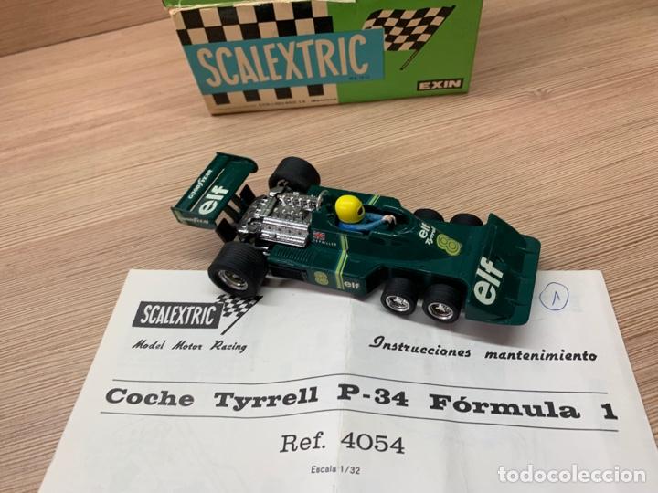 Scalextric: Tyrrell p34 verde en caja EXIN SCX SCALEXTRIC - Foto 5 - 268716929