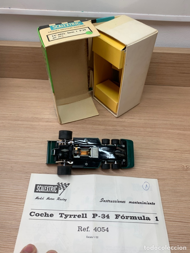 Scalextric: Tyrrell p34 verde en caja EXIN SCX SCALEXTRIC - Foto 7 - 268716929