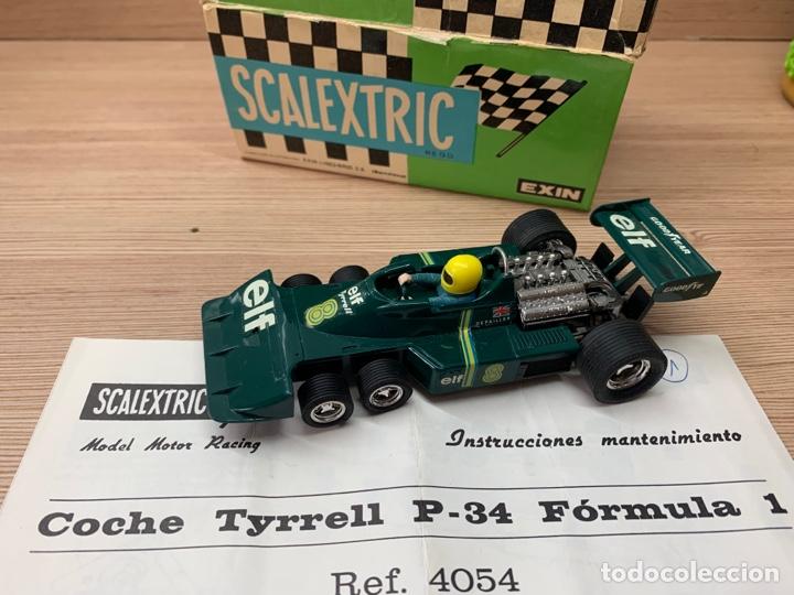 Scalextric: Tyrrell p34 verde en caja EXIN SCX SCALEXTRIC - Foto 9 - 268716929