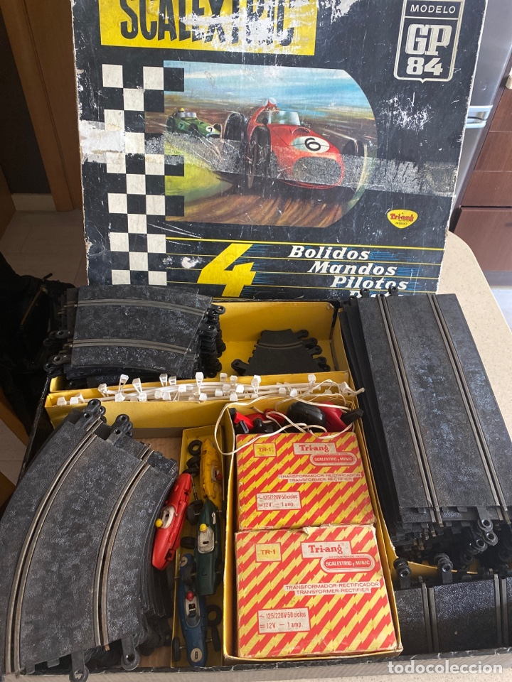 Scalextric: SCALEXTRIC GP 84 4 BOLIDOS TRIANG AÑOS 60 - Foto 36 - 268718634