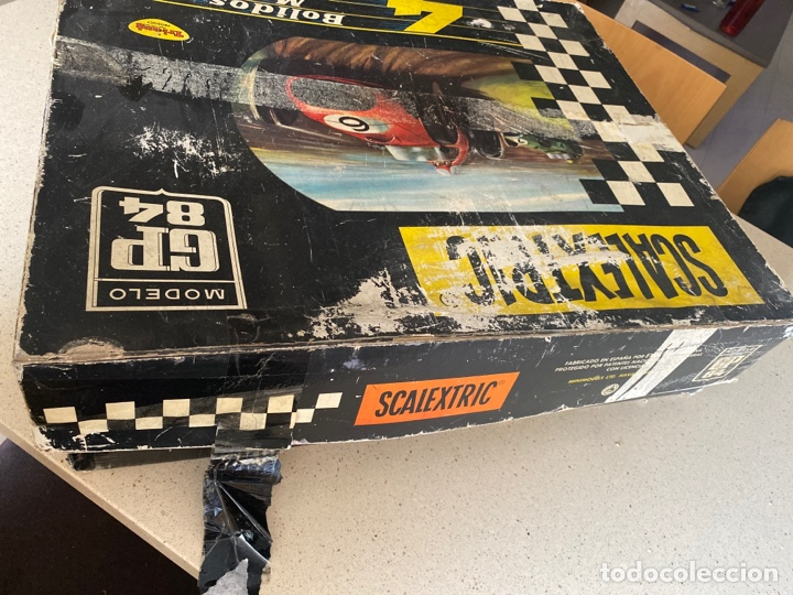 Scalextric: SCALEXTRIC GP 84 4 BOLIDOS TRIANG AÑOS 60 - Foto 38 - 268718634