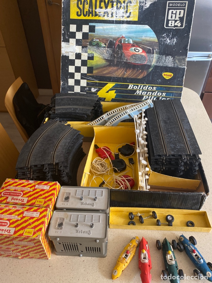 SCALEXTRIC GP 84 4 BOLIDOS TRIANG AÑOS 60 (Juguetes - Slot Cars - Scalextric Exin)