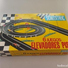 Scalextric: SCALEXTRIC CAJA DE 6 JUEGOS DE ELEVADORES DE PISTAS. Lote 268896584