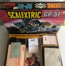 Scalextric: NUEVO LISTING: SCALEXTRIC GP51 1970'S CAJA ORIGINAL. MUY BUEN ESTADO.. Lote 269169328