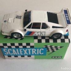 Scalextric: NUEVO LISTING: CAJA ORIGINAL. BMW M1 MUY BUEN ESTADO.. Lote 269170838